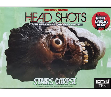 Officially Authorised Night of the Living Dead Stairs Corpse head bust from Misshapen Monsters