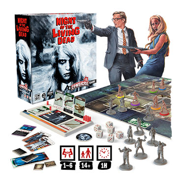 Cmon Night of the Living Dead Board Game
