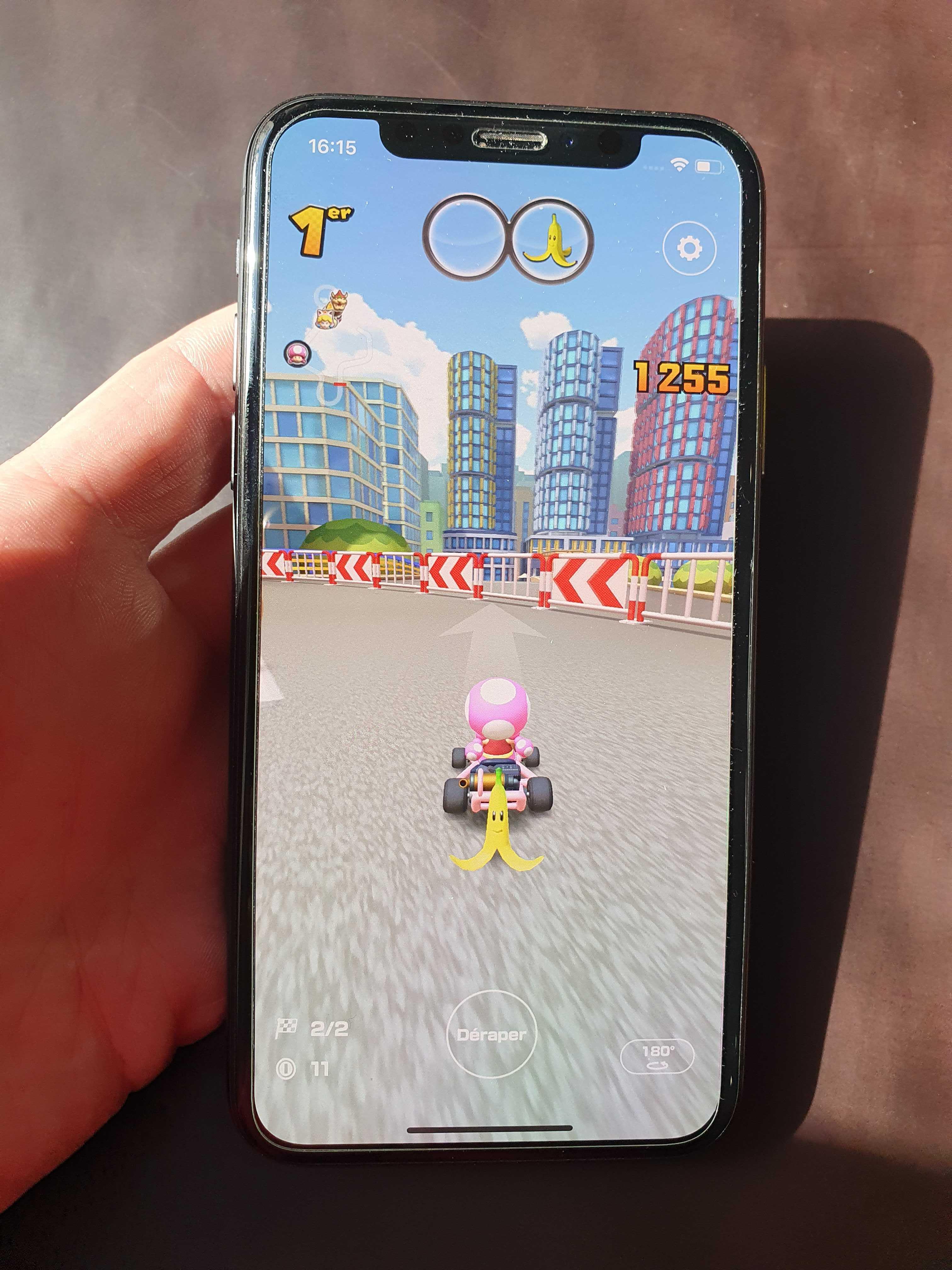 3 jeux mobiles : Mario Kart Tour