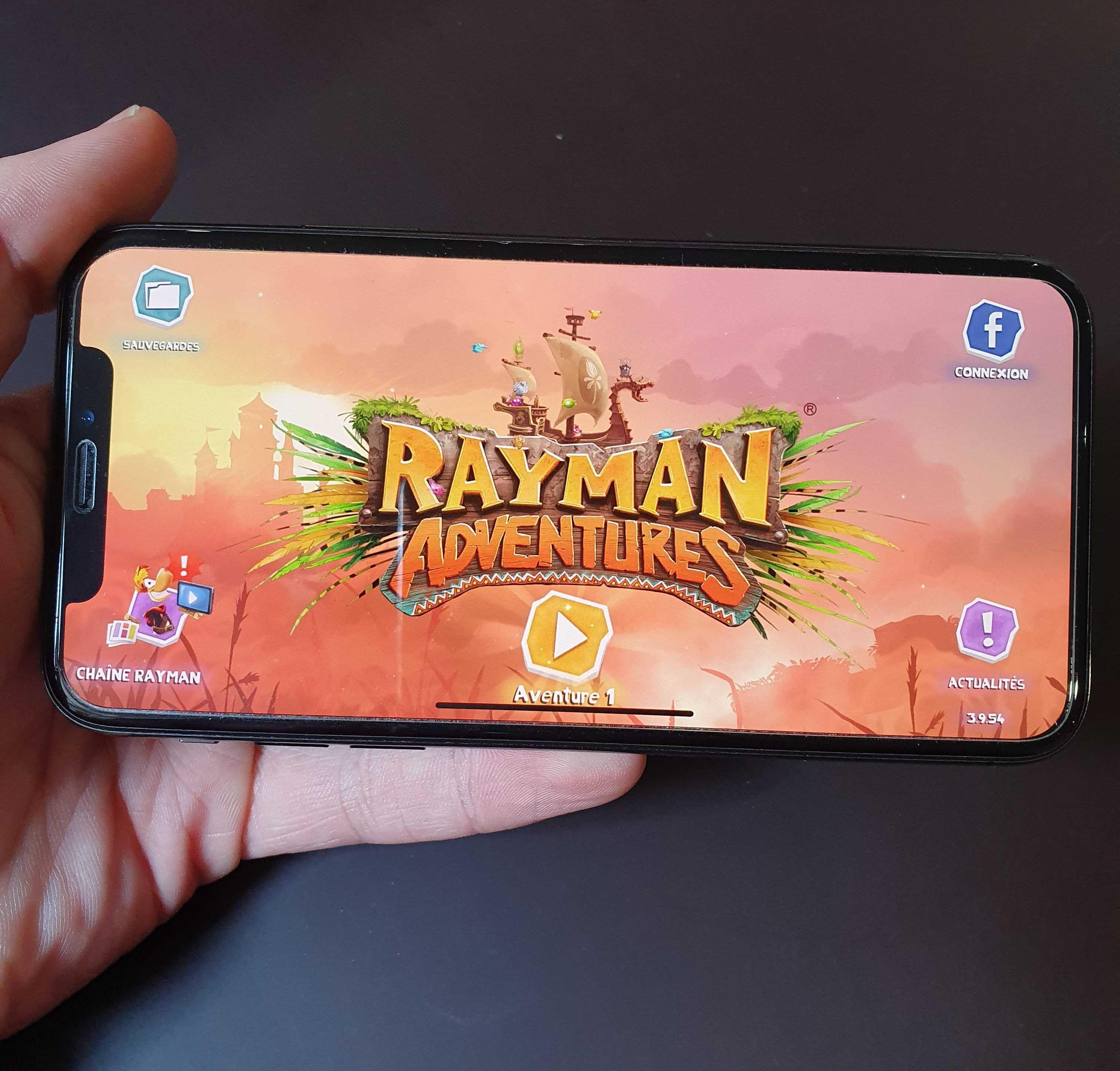 3 jeux mobiles : Rayman Adventures
