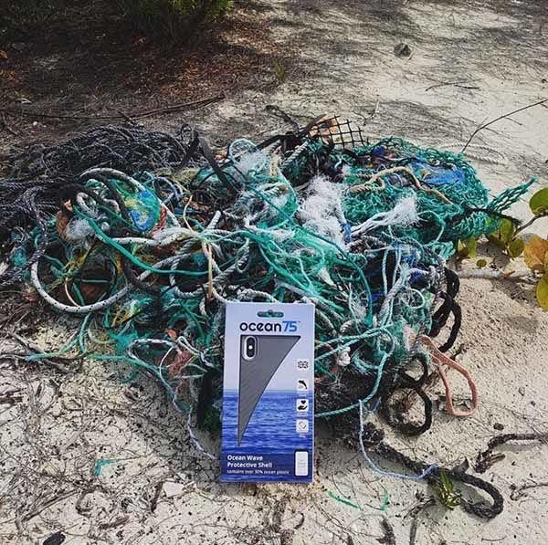 coque Ocean 75 recyclée des océans
