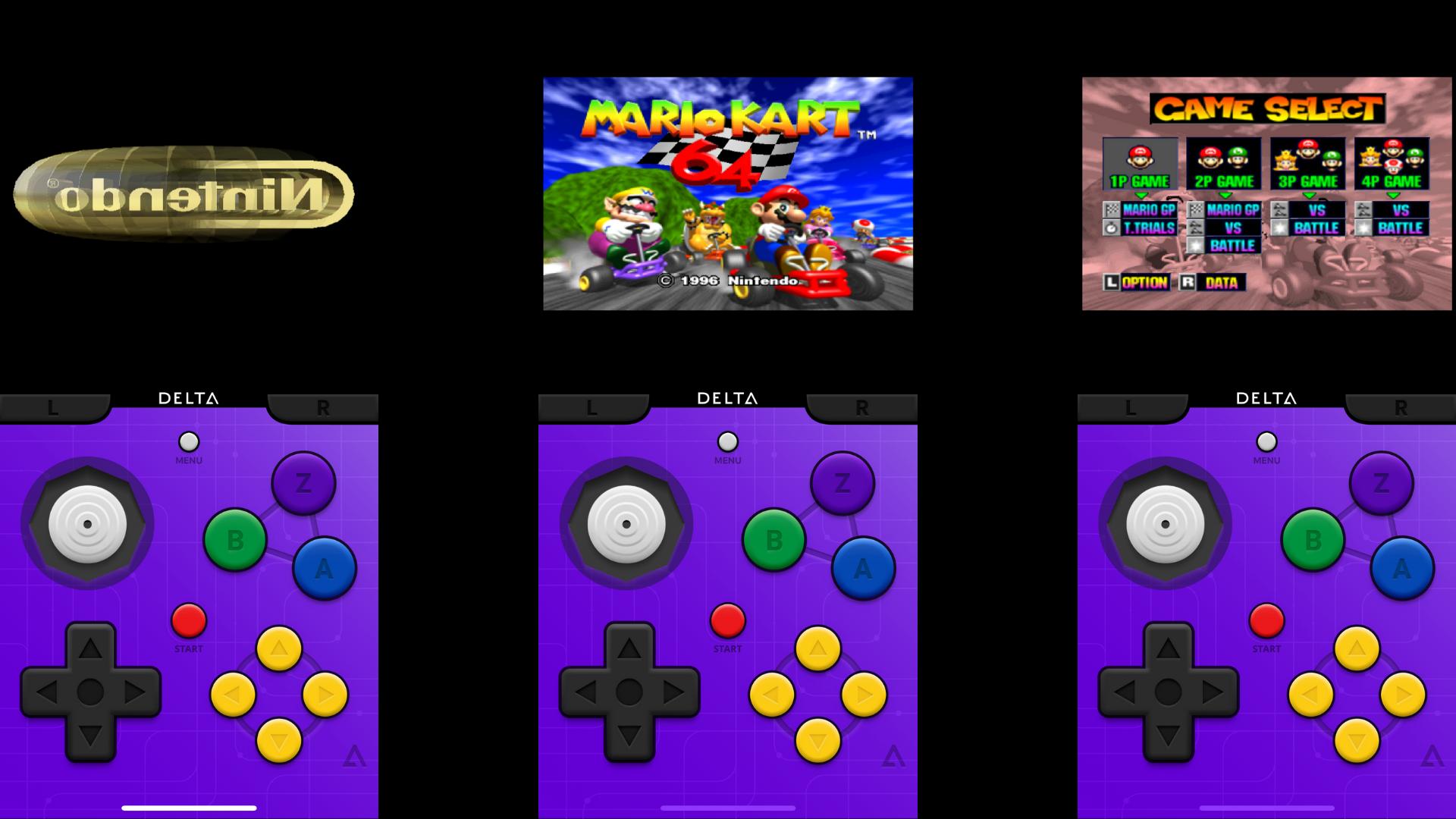 Mario Kart N64 sur ton iPhone
