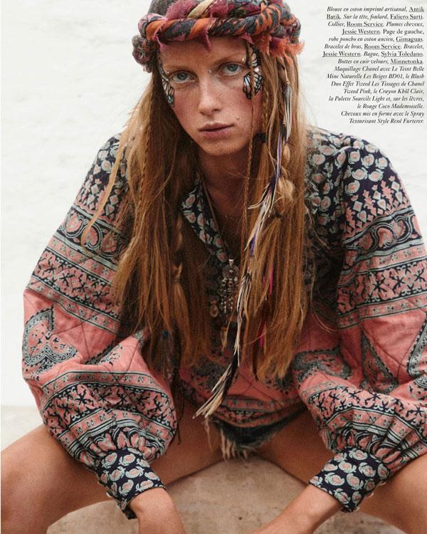 Eden Feathers in Vogue Paris