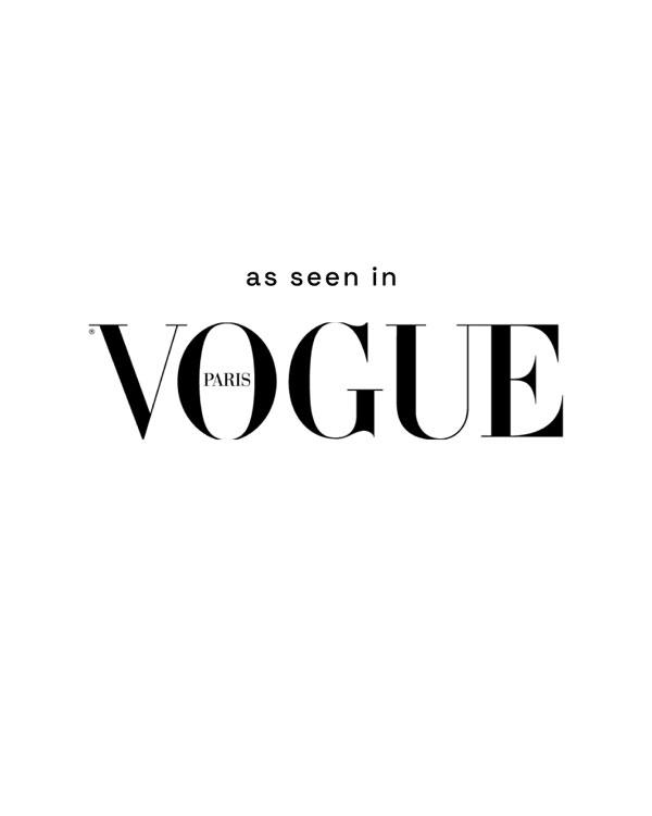 Eden Feathers seen in Vogue Paris