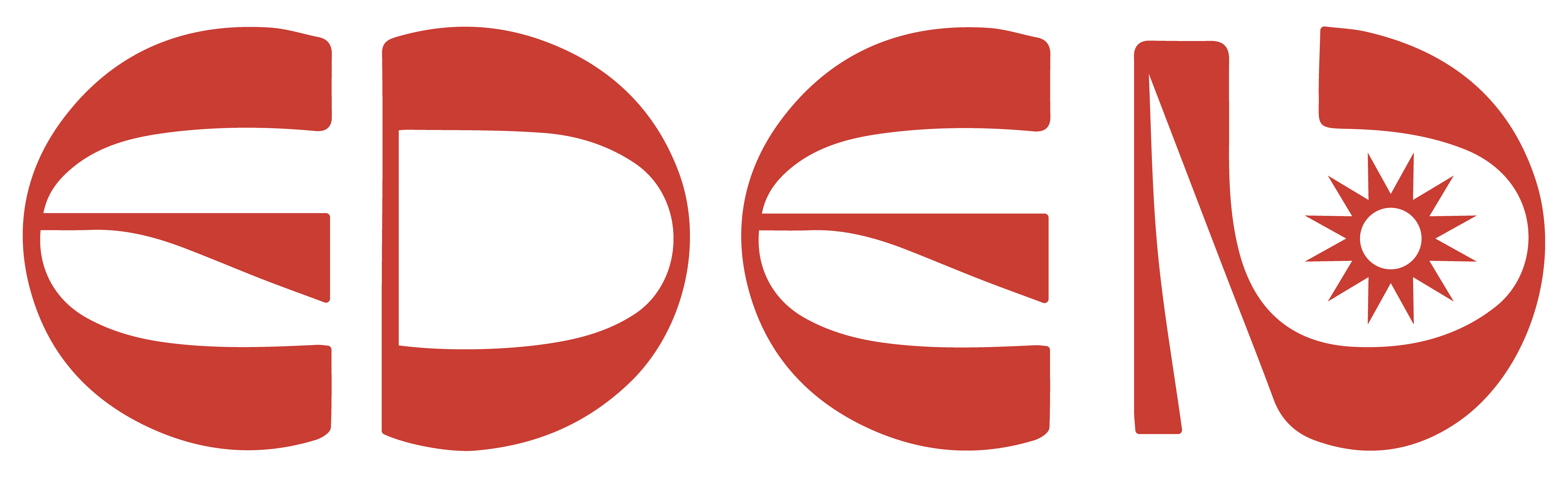 Eden Feathers Logo Red PNG