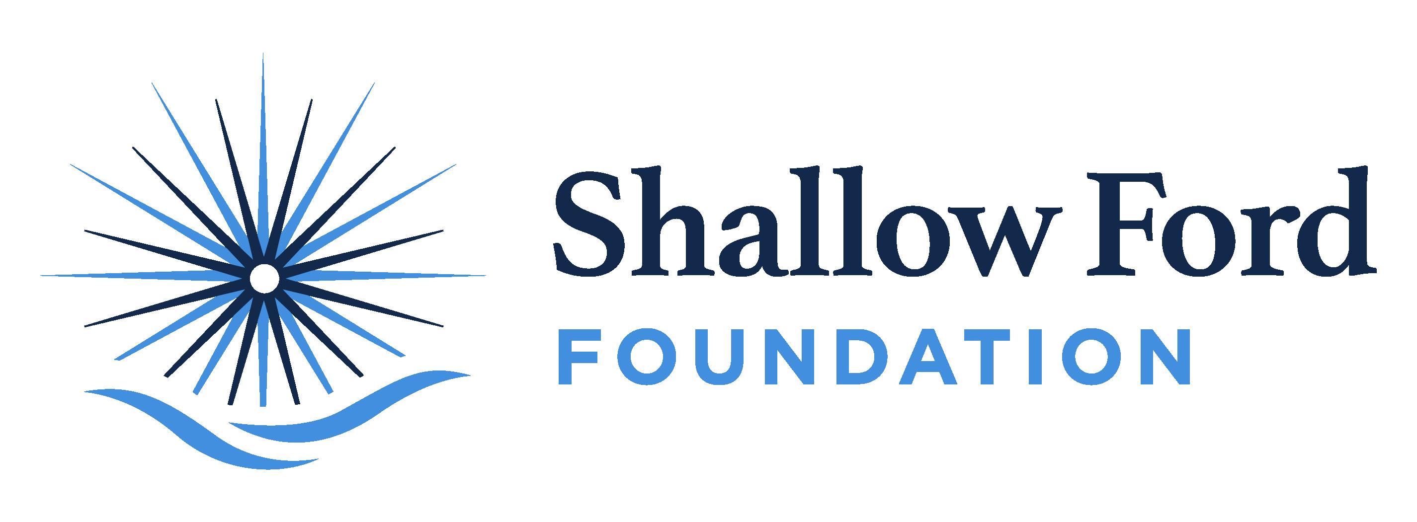 Shallow Ford Foundation logo horizontal layout