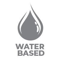 Icon that Shows that the NeroShield product is Water based