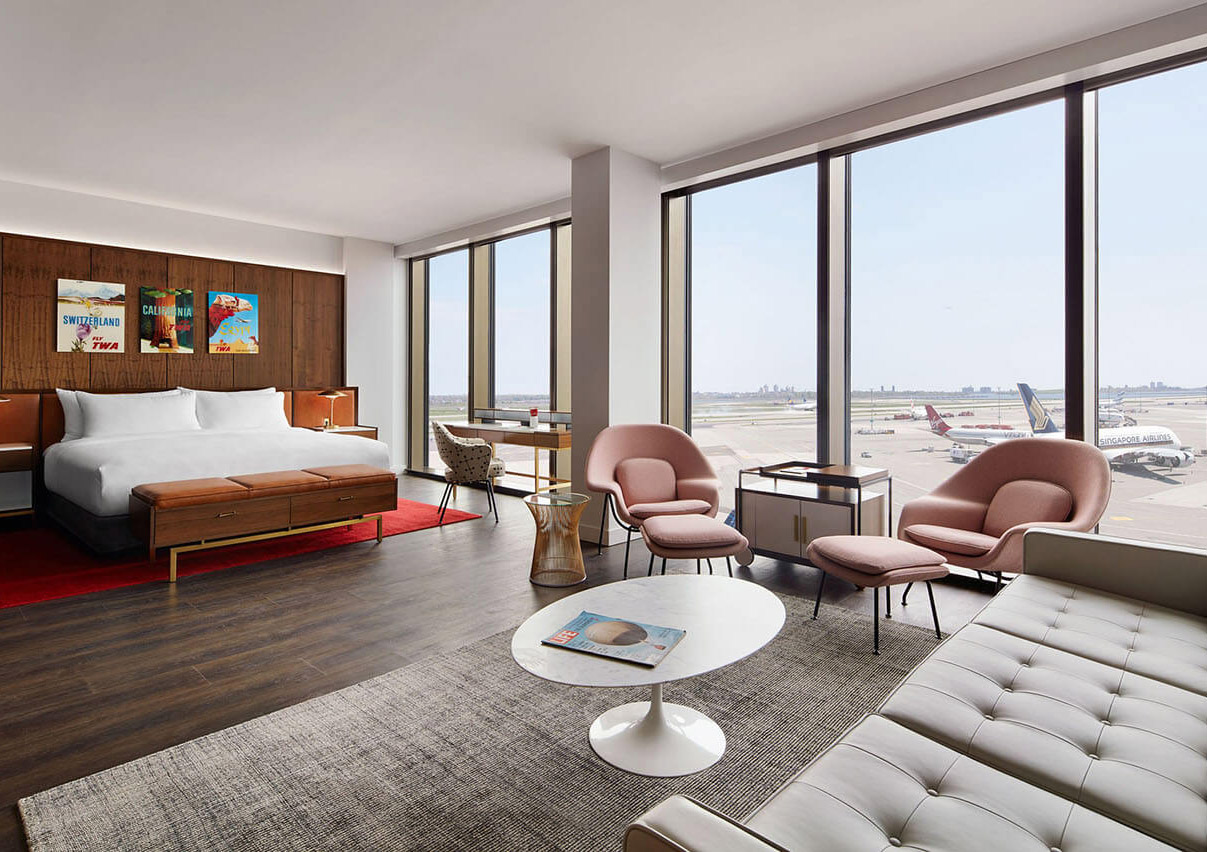 Photo of TWA Hotel guest rooms view