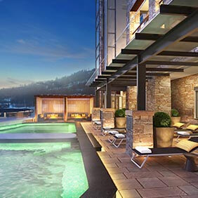 Photo of Limelight Hotel lounge outdoor pool