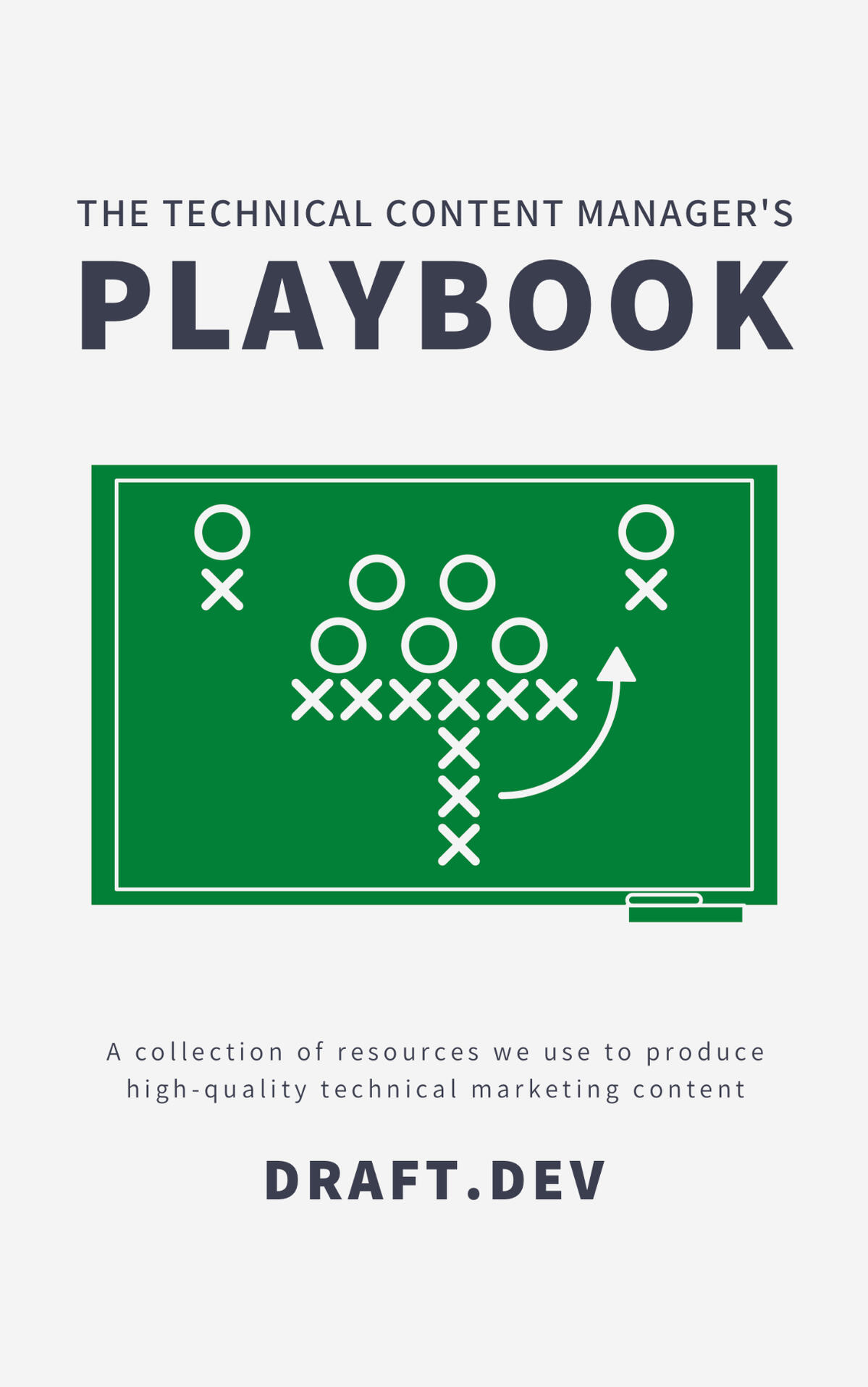 "The cover of ""The Technical Content Manager's Playbook"""