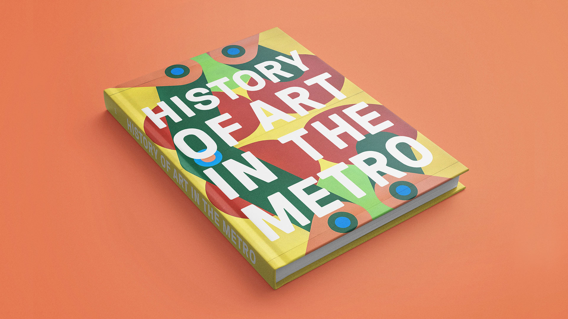 History of Art in the Metro Book Design