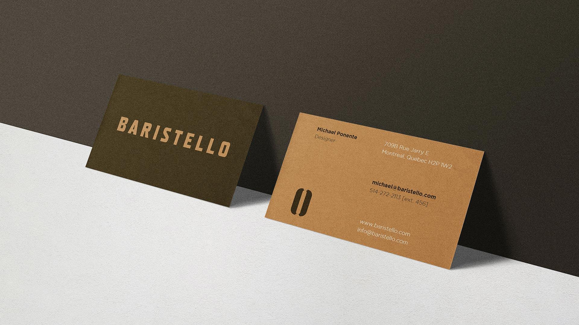 Baristello Coffee Shop Rebranding