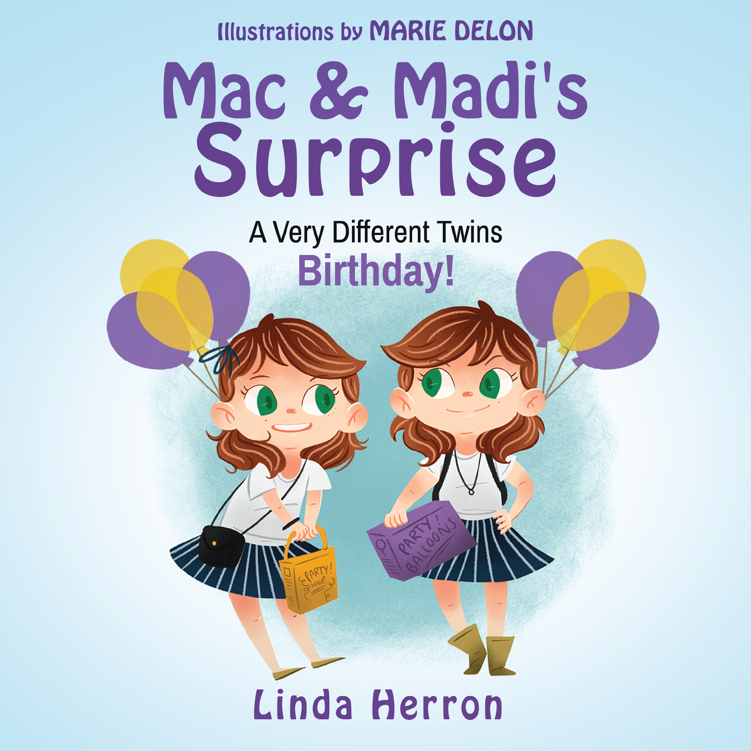 Photo of Book Cover for Twins Mac and Madi