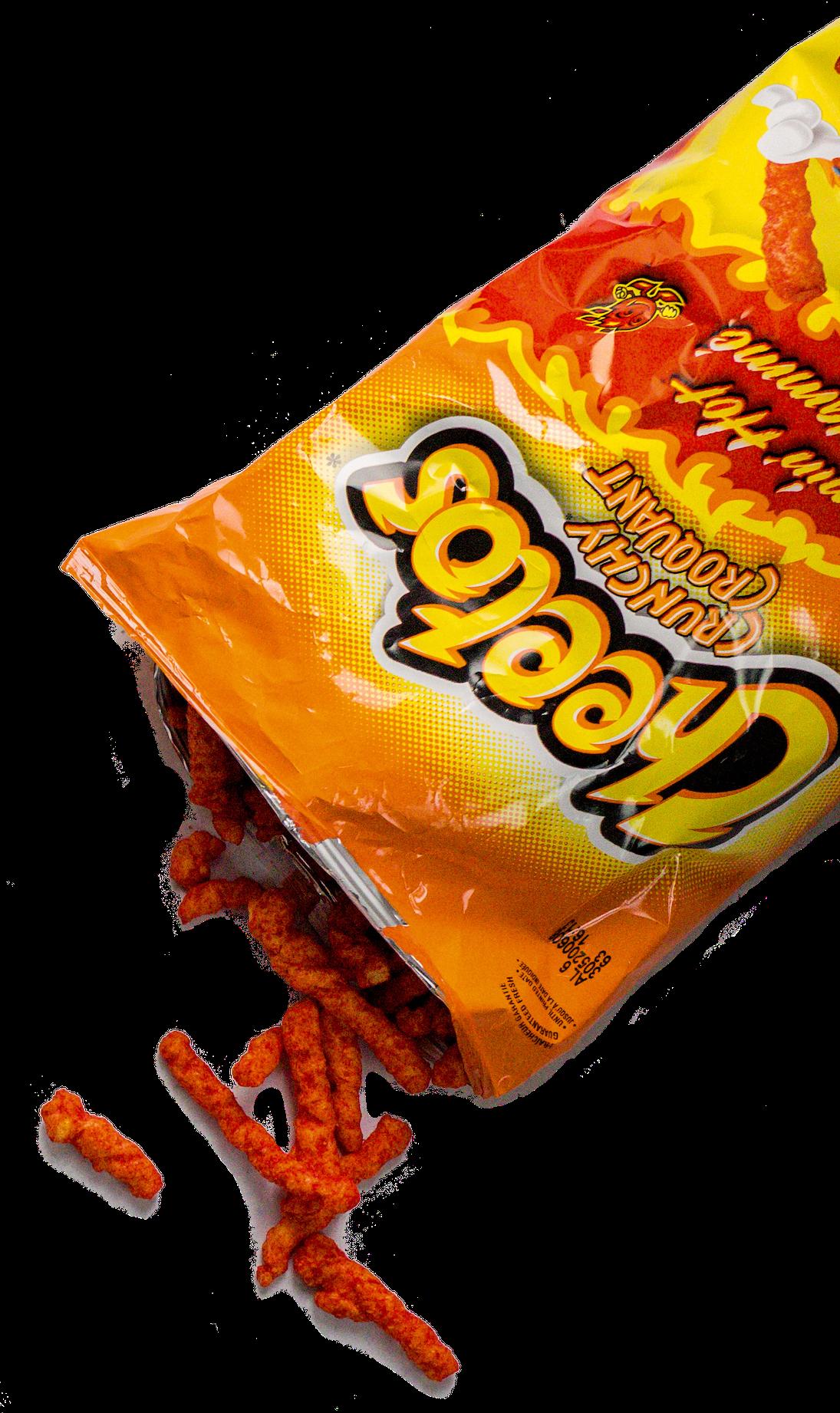 graphic of cheetos