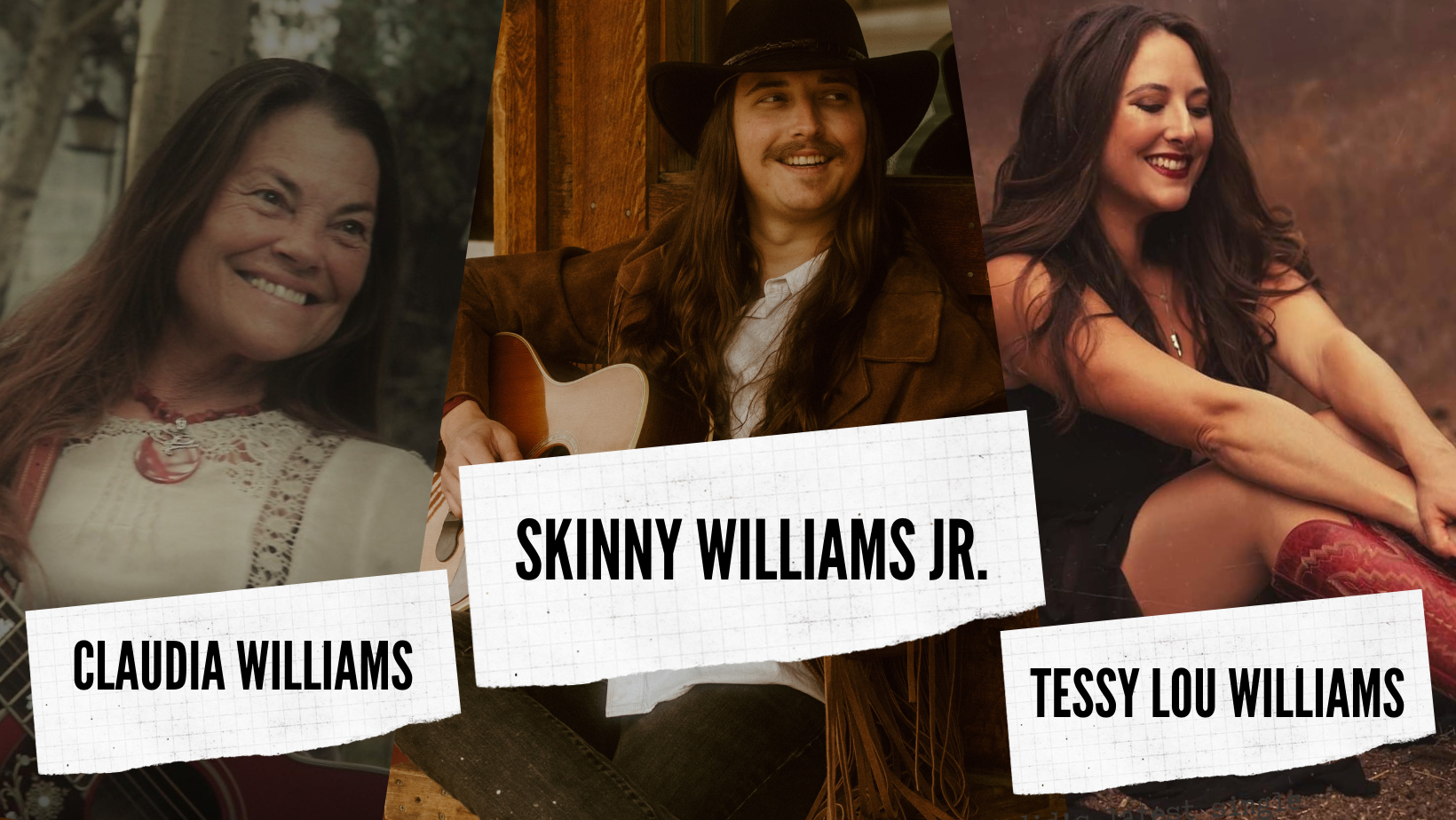 Skinny Williams Jr. featuring Claudia Williams and Tessy Lou Williams