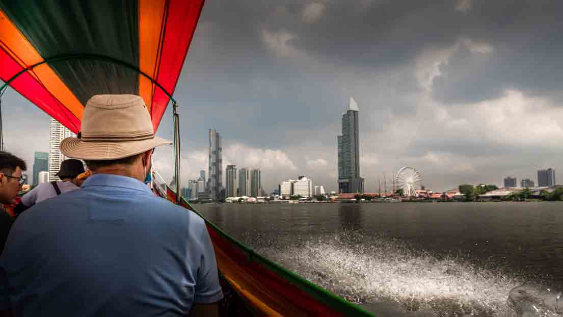 Bangkok to do: khlong tour
