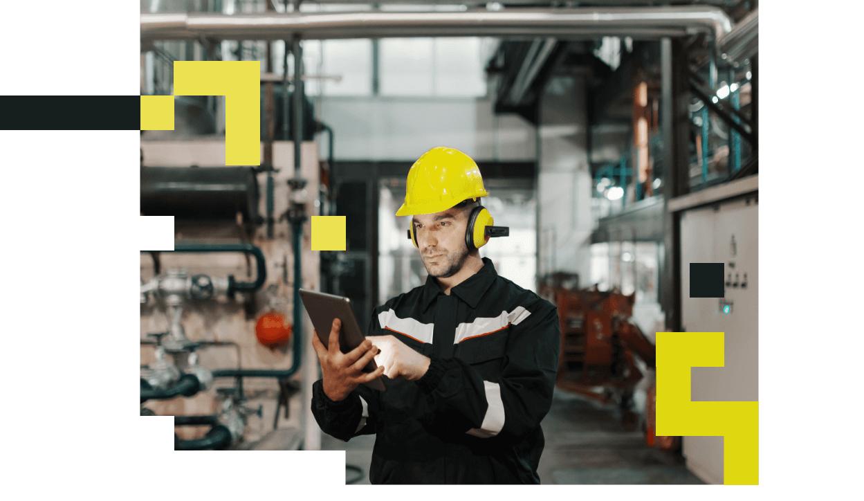 Combining a range of bespoke product features, PlantQuest gives workers the tools to navigate plants and get their job done with maximum efficiency.