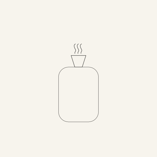 A femble- illustration of a hot-water bottle