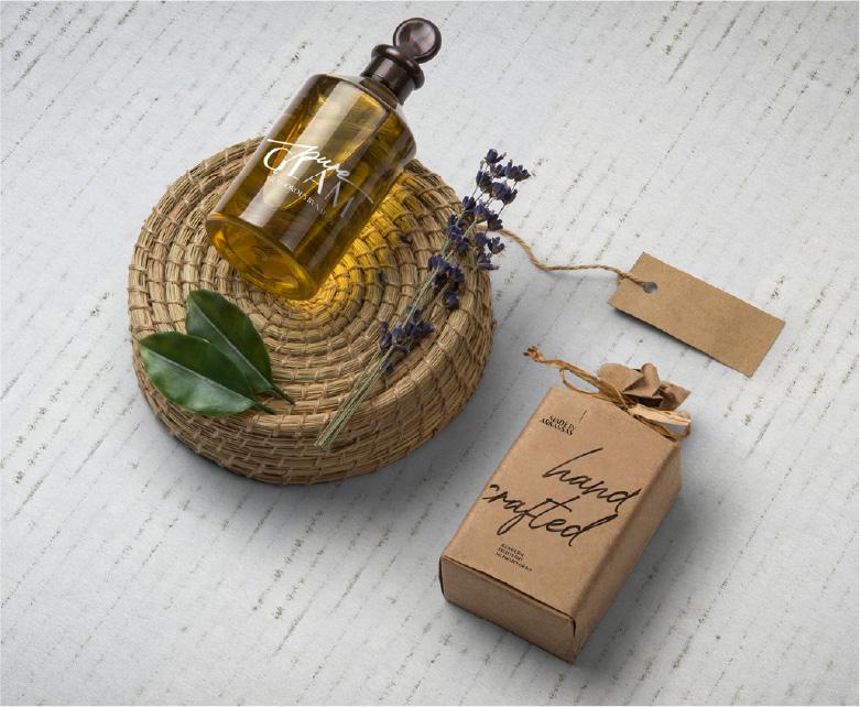 soap branding & packaging design