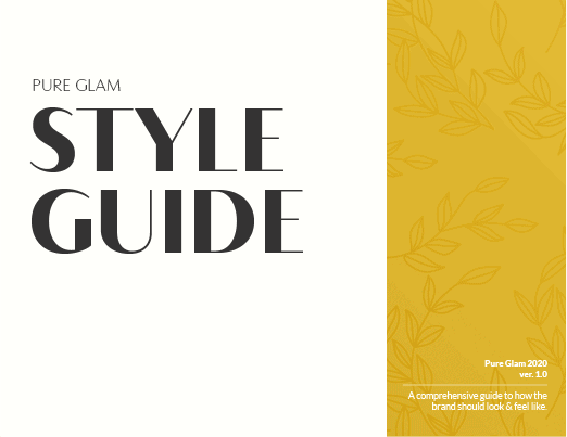 soap brand style guide