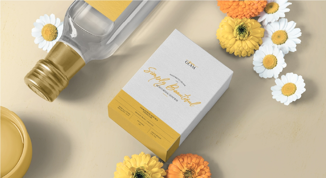 pure glam - branding & packaging project