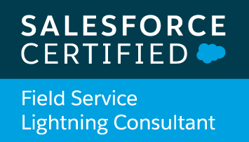 Salesforce Certified Field Service Lightning Consultant logo