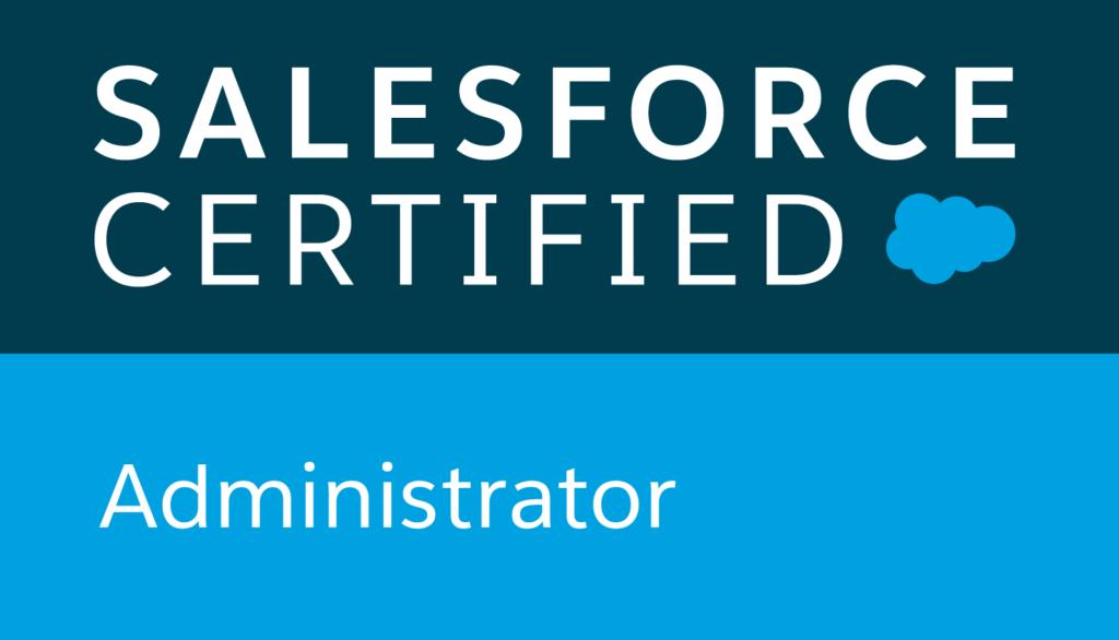 Salesforce Certified Administrator logo