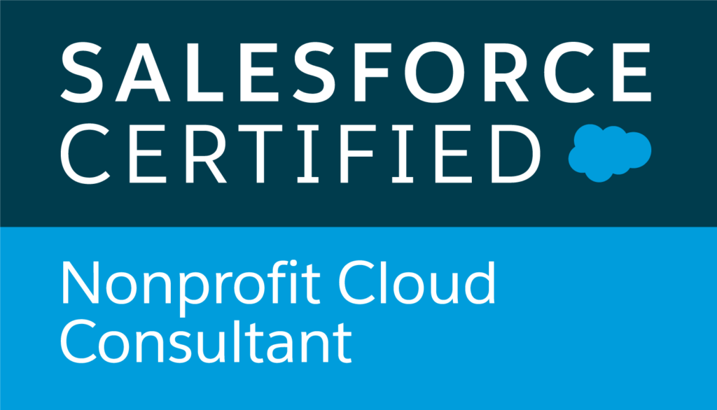 Salesforce Certified Nonprofit Cloud Consultant logo