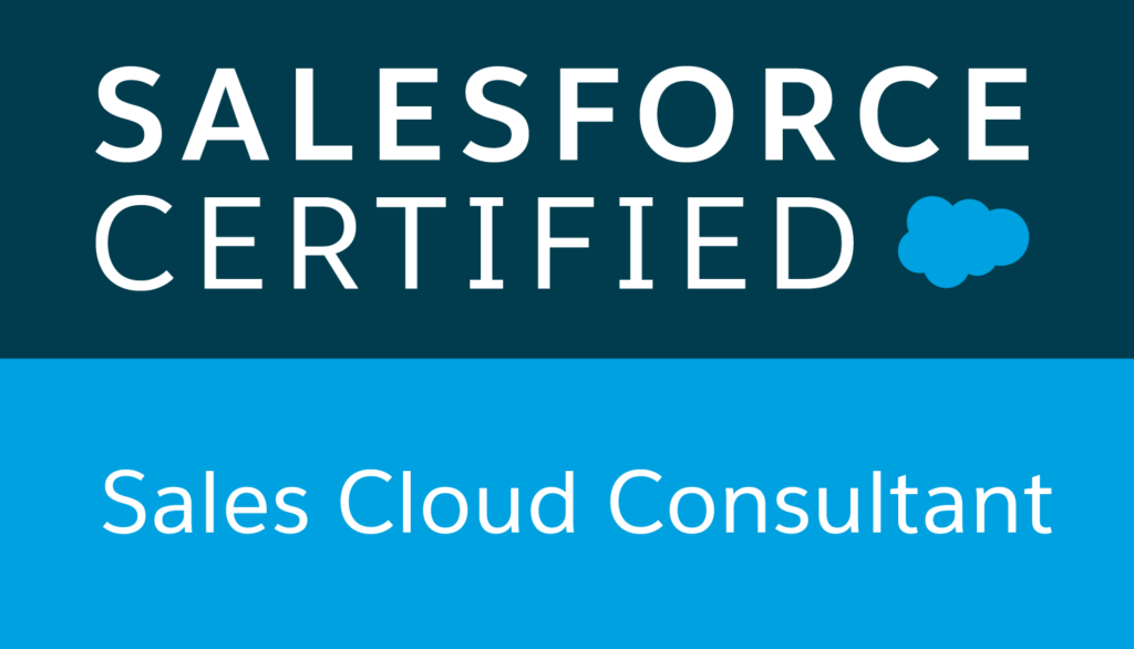 Salesforce Certified Sales Cloud Consultant logo