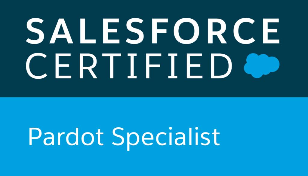 Salesforce Certified Pardot Specialist logo