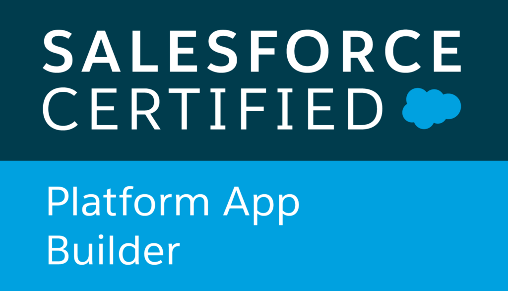 Salesforce Certified Platform App Builder logo
