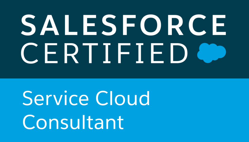 Salesforce Certified Service Cloud Consultant logo
