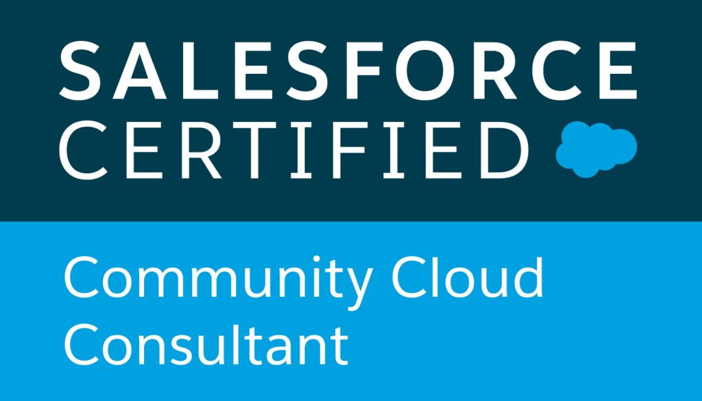 Salesforce Certified Community Cloud Consultant logo