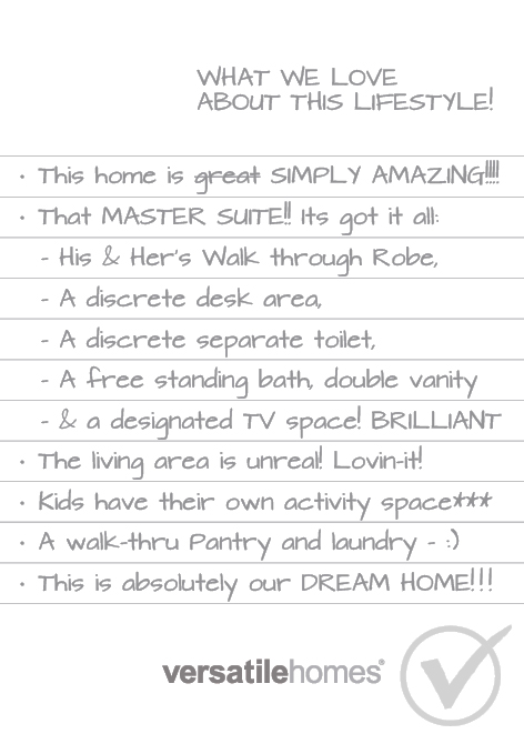 What we love about Versatile Homes Slender Immersive. The ultimate narrow lot home with a true feeling of luxury.