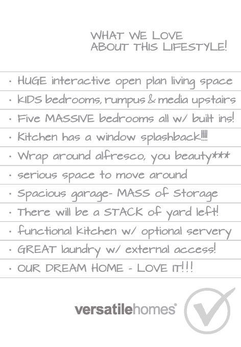What we love about Versatile Homes Living Lavishly. A home that gives that instant wow factor. So much space to move!
