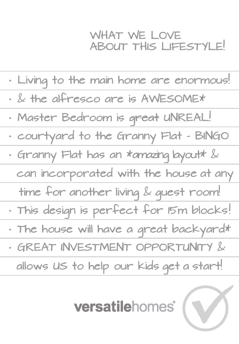 What we love about Versatile Homes Duo Diversity. A compact, low entry point to owning a home with income potential.