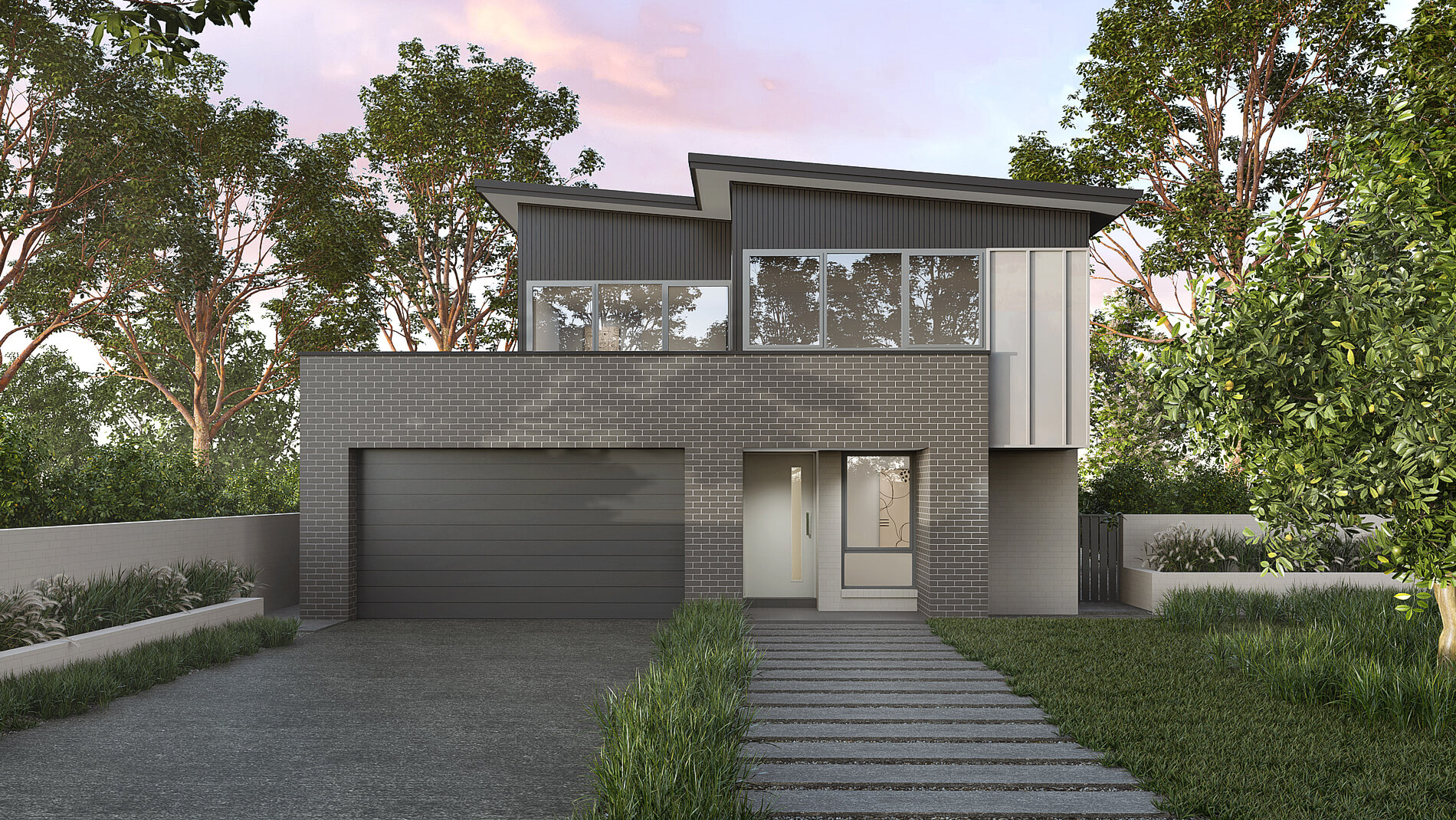Versatile Homes Coastal Style Façade from our Living Collection. Stand out in your new estate or blend in with other homes in your established neighbourhood.