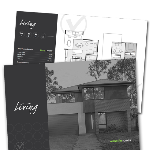 Download your copy of the Versatile Homes Living Collection Brochure