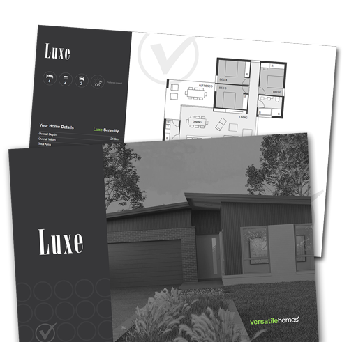Download your copy of the Versatile Homes Luxe Collection Brochure