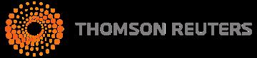 The Thomson Reuters logo, in grey & orange.