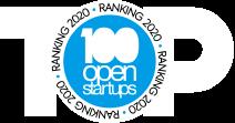 Logo 100 open startups Top - Big Data
