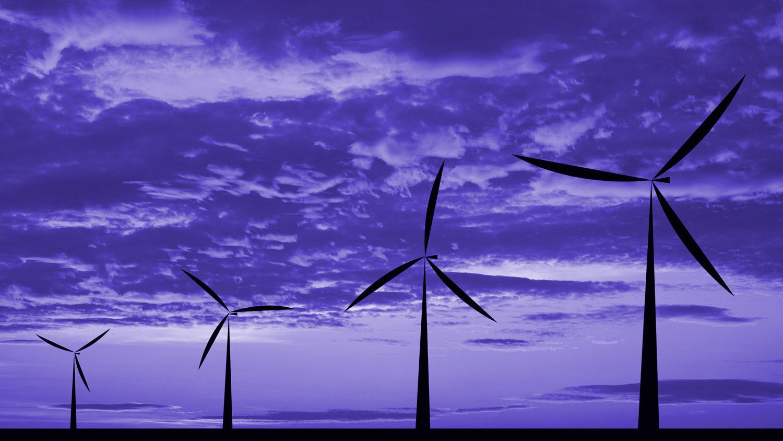 Turbines saving energy