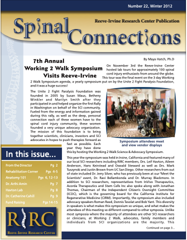 RIRC Winter 2012, Publication 22