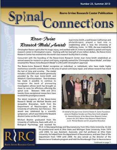 RIRC Summer 2013, Publication 23