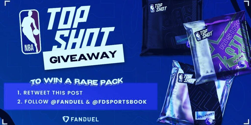 FanDuel's free-to-play NBA contest with NBA Top Shot NFTs as prizes was its most popular fantasy contest of 2021 so far, the company said.