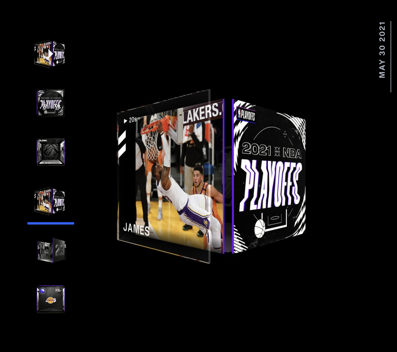 Lebron James Best Moment NBA Top Shot 2021 Playoff Series
