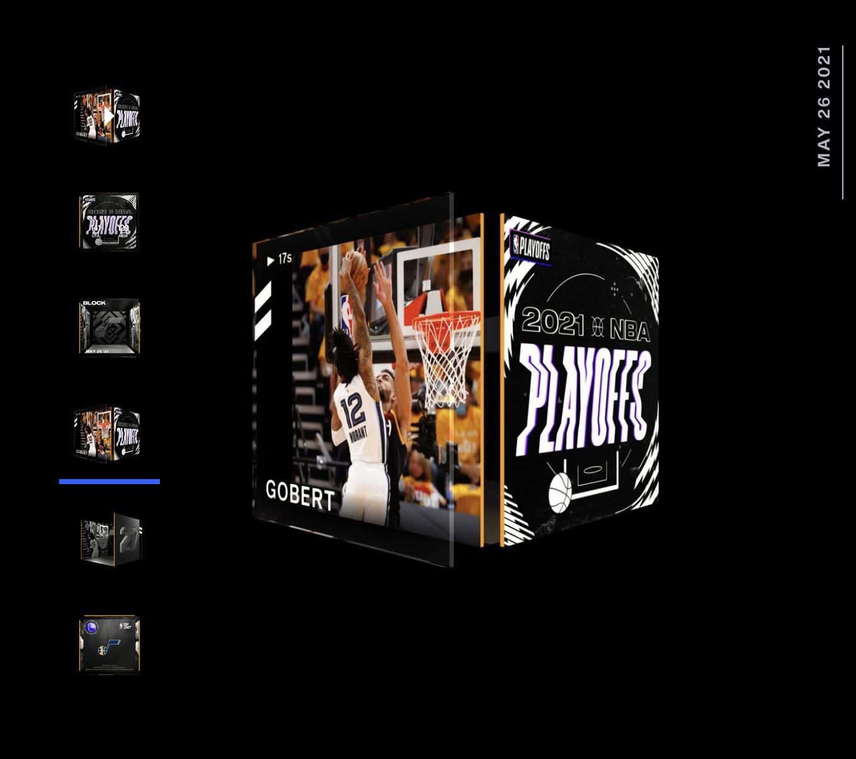 Rudy Gobert  Best Moment NBA Top Shot 2021 Playoff Series