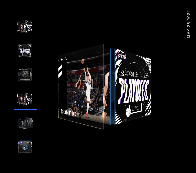 Luka Doncic Best Moment NBA Top Shot 2021 Playoff Series