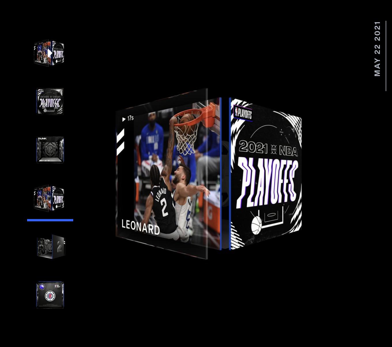 Kawhi Leonard Best Moment NBA Top Shot 2021 Playoff Series