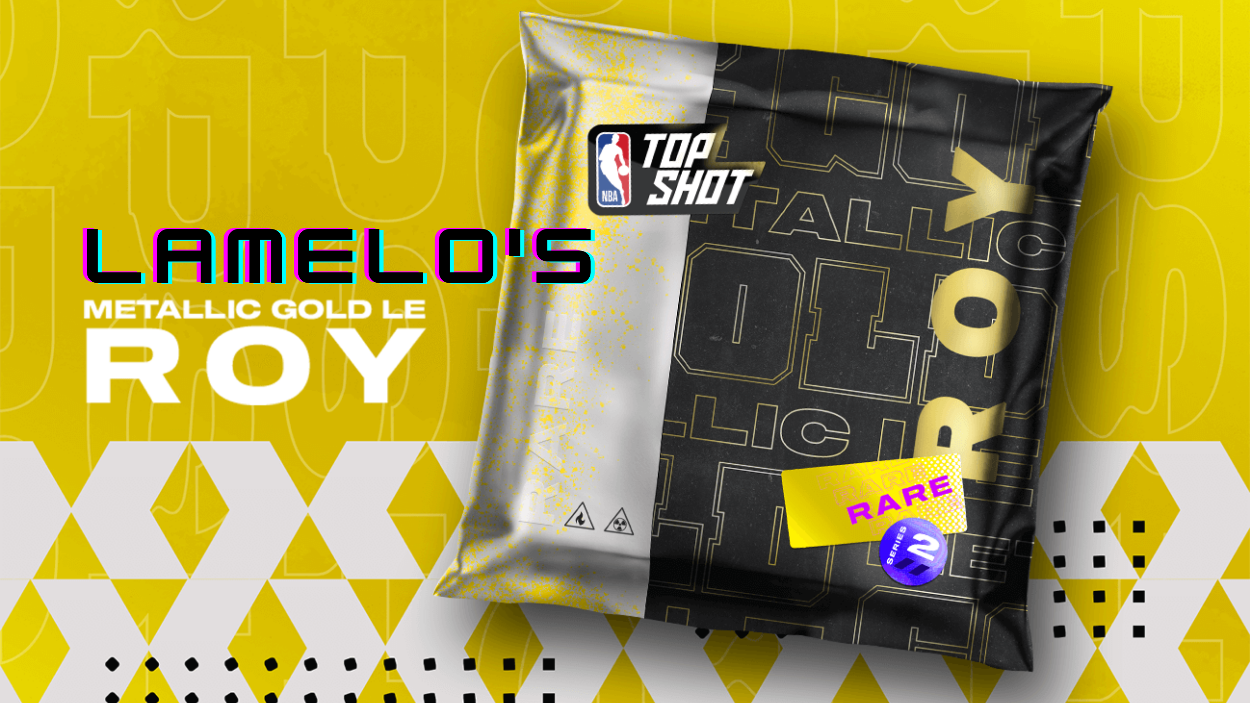 The much-anticipated Metallic Gold Limited Edition of Charlotte Hornets' Rookie of the Year LaMelo Ball has finally found its way to NBA Top Shot.